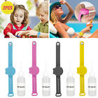 2/4pcs Portable Silicone Bracelet Wristband Hand Soap Dispenser Squeeze Bottles