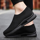 Men's Running Shoes Casual Breathable Lightweight Slip-on Tennis Sneakers Gym US