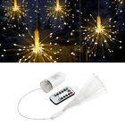 LED Fairy Lamp Silver Wire LED String Lights 8 Change Modes 150 Beads for Party