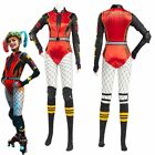 Birds of Prey Harley Quinn Cosplay Costume Sexy Jumpsuit Halloween Outfit Suit