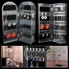 Foldable Earrings Jewelry Pendant Display Rack Stand Organizer Show Box Case US