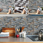 Kitchen Bathroom Tile Mosaic Sticker Home Waterproof Self-adhesive Decor Wall