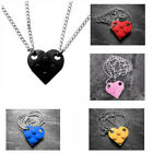 Lego Heart Necklace - Double Chain