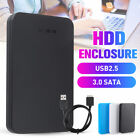 USB3.0 2.5inch SATA HDD SSD Enclosure Mobile Laptop Hard Disk Case Box Charm NEW