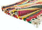 Recycled Cotton Fair Trade Loom Mat Handmade Multi Colored Chindi Floor Rag Rug