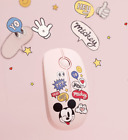 Official Disney Mickey Mouse Wireless Silent Mouse + Free Tracking