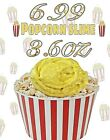 Slime Pack of 2, Popcorn and Chocolate ,Glitter Packet included, ( 7.2 oz total)