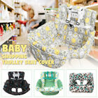 Foldable Baby Shopping Trolley Cart Seat Pad Kid High Chair Protective Mat
