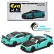 ERA Car 1:64 Nissan GT-R R35 Nismo 2020 Robin Egg Blue - Special Edition photo