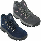 Womens Waterproof Walking Boots Peak Hiking Lace Up Trail Trekking Shoes 3-8