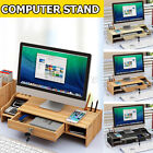Computer Monitor Riser Desk Table Laptop Stand Shelf Notebook Display