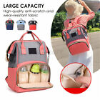 Multifunction Mummy Backpack Nappy Diaper Bag Travel Nursing Baby Large