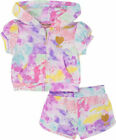Juicy Couture Girls Tie Dye 2pc Short Set Size 2T 3T 4T 4 5 6 6X 7 8/10 12