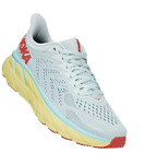 HOKA ONE ONE Women's Clifton 7 Morning Mist/Hot Coral (Sizes 6, 6.5)