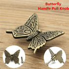 Durable Vintage Butterfly Cupboard Cabinet Door Knob Cups Drawer Furnitur