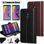 For LG Stylo 5/5+/5 Plus Phone Case Leather Wallet Flip Card Holder Stand Cover