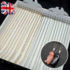 12pcs 5m Cable Silver Plated Necklace Chains Lobster Clasps Jewellery Making Uk