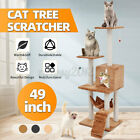 Large Cat Tree Climbing Tower Scratcher Scratching Post Toy Play Activity Centre