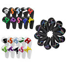Golf Club Head Covers for Irons Magnetic Closure Leather 10 Pack, Iron Golf