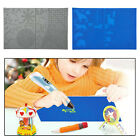 Printing Pen 3D Silicone Mat Template Stencils Drawing Pad for Kids