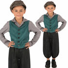 Poor Victorian Boy Costume Street Peasant Urchin World Book Day Fancy Dress Outf
