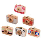 Camera Style Wooden Baby Tooth Box Milk Teeth Lanugo Hair Collection Case