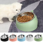 Cute Pet Dog Cat Feeding Bowl Protect The Cervical Spine Water Food Dish