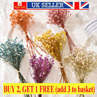 Dried Flower Bouquets Babysbreath Gypsophila Home Wedding Props Decor Diy Craft
