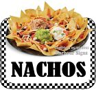 Nachos DECAL (CHOOSE YOUR SIZE) Food Truck Concession Vinyl Sticker