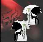Fox monster energy Racing T-Shirt 3D Printed motorbike For Bike, Motocross Fox