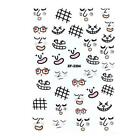 Abstract Image Nail Art Stickers Self Adhesive DIY Manicure Tips Wrap Decal