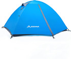2 Person Camping Tent Lightweight Backpacking Waterproof Windproof Double Layer