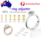 12pcs Invisible Tightener Ring Size Reducer Resizing Adjuster Pad Jewellery Resi