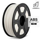 JIAWILL 3D Printer Filament 1.75mm 1KG/2.2LB with Spool ABS marterial toughness