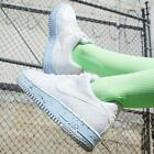 Nike Air Force 1 Water Crater size 6 7 8 9 Womens Shoes White Blue Sneaker new