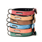 Adjustable Dog Collar Leather Leads Pet Collar Small Medium and Large Dogs L B1A