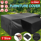 Waterproof Furniture Cover Patio Garden Rain Snow Uv Table Sofa Couch Outdoor