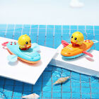 Creative Toddler Bath Toys Wind Up Rowing Boat Duck Floating Swimming Toys
