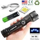 Tactical 990000LM LED Flashlight Zoomable Ultra Bright Torch 18650 Light Lamp