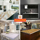 2/4/6m Marble Wall Stickers Wallpaper Pvc Effect Home Room Waterproof Decor 3d
