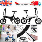 ONEBOT 16inch City Cycle EBike Electric Folding Bicycle Bike 250W Commuter G0E5