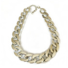 Gold & Silver Pet Choke Chain Necklace Collar Small Cat Dog French Bulldog Puppy