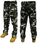 ARMY CARGO CAMO COMBAT MILITARY TROUSERS/PANTS 30