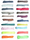 45cm Thin Round Shoe Laces Choice of Colours FREE P&P