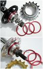 CNC SPACER KIT for FIXED TRACK COG Freewheel BLACK RED GOLD BLUE
