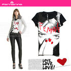 NEW Stunning Cool Beauty Fornarina Lady's T-shirt Top