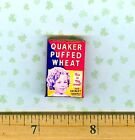Dollhouse Miniatures  Size Vintage Child Movie Star Cereal Box  #ST