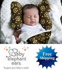 New Infant BABY ELEPHANT EARS Head Support Pillow UPick