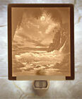 Lithophane Night Light - Tropical Moonlight  - Beach