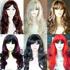 Long Ladies Fashion Wig Wavy Style Blonde Black Brown Red Wigs. AMAZING HAIR !